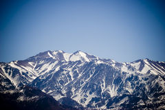 Mount Aconcagua in Mendoza, Ar Royalty Free Stock Images