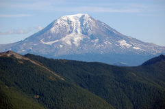 Mount Adams. The forgotten Cascade peak in Washington State stock image