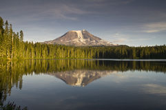 Mt Adams Gifford Pinchot National Forest Lake USA Stock Images