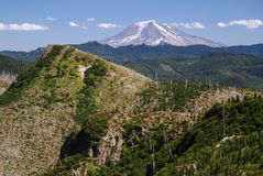 Mount Adams, Washington, USA Royalty Free Stock Photos