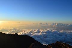 Mount Agung Gunung in Bali, Indonesia Royalty Free Stock Image