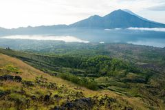 Mount Agung Royalty Free Stock Image