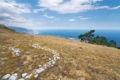 Mount Ai-Petri. Picture made with summer Crimea Stock Image