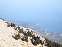 Mount Ainos Stock Photo