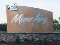 Mount Airy Casino Resort in Mount Pocono, Pennsylvania Royalty Free Stock Images