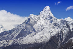 Mount Ama Dablam in the Nepal Himalaya Stock Images