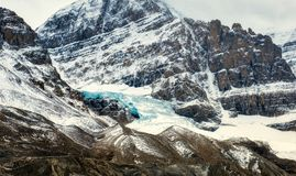 Canadian Rockies -Icefields Glacier Royalty Free Stock Photography