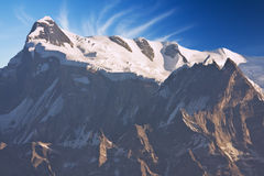 Mount Annapurna IV at Dawn, Nepal Royalty Free Stock Photo
