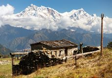 Mount Annapurna - Nepal Royalty Free Stock Image