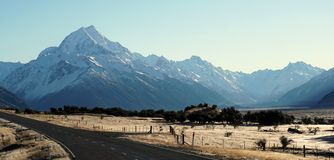 Mount Aoraki, New Zealand Stock Images