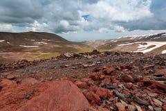 Mount Aragats, Armenia Royalty Free Stock Photos