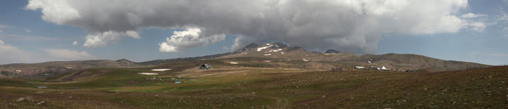 Mount Aragats, Armenia. Stock Photos