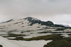Mount Aragats, Armenia Stock Photo
