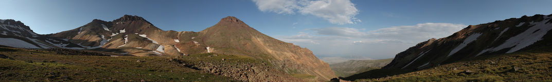 Mount Aragats, Armenia. Royalty Free Stock Images