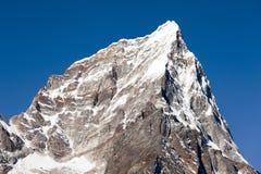 Mount Arakam Tse, peak on the way to Everest base camp Stock Photo