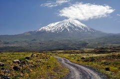 Mount Ararat. The legendary Mount Ararat in eastern Turkey Stock Photos