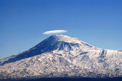 Mount Ararat. Biblical Mountain Ararat in Armenia Stock Photos