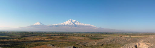 Mount Ararat Armenian plateau Royalty Free Stock Images