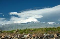Mount Ararat. Famous Mount Ararat. Noah's Ark royalty free stock images