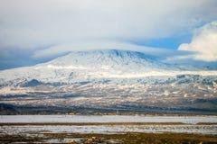Mount Ararat. Snow covered Mount Ararat in Turkey Stock Photo