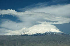 Mount Ararat. Turkey. Mount Ararat - the tallest peak in Turkey (5137 m Royalty Free Stock Images