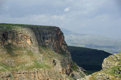 Mount Arbel Stock Photo