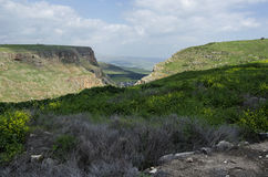 Mount Arbel Royalty Free Stock Image