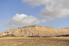 Mount Ardon in Negev desert. Royalty Free Stock Photography