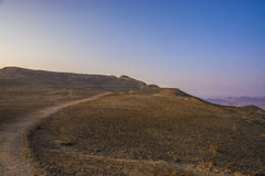 Mount  Ardon peak route Stock Image
