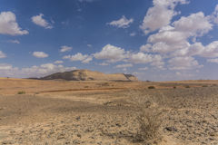 Mount  Ardon from Ramon crater Royalty Free Stock Images