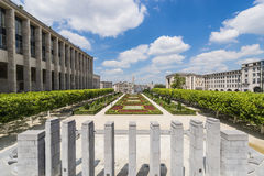 Mount of the Arts in Brussels, Belgium. Stock Photos