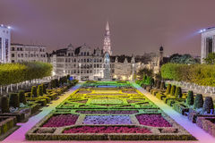 The Mount of the Arts in Brussels, Belgium. Stock Image