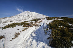 Mount Asahidake Royalty Free Stock Photography