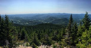 Mount Ascutney Hang Glide View. Ascutney State Park, Vermont Stock Photos
