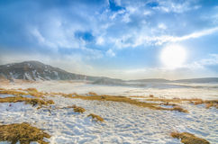 Free Mount Aso And Snow Stock Photos - 36871743