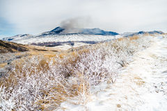 Free Mount Aso In Winter Stock Photography - 49683042