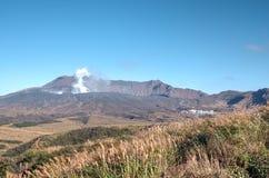 Mount Aso, Kyushu, Japan Stock Photo