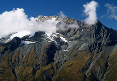 Mount Aspiring range Stock Photos