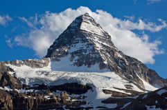 Mount Assiniboine. Beautiful Mount Assinboine in British Columbia in the Rocky Mountains of Canada Stock Image