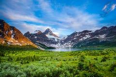 Mount Assiniboine Royalty Free Stock Photography