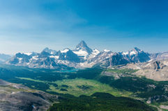 Mount Assiniboine Provincial Park Royalty Free Stock Photo