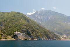 Mount Athos stockbild