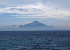 Mount Athos Stock Photo