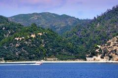 Mount Athos Chalkidiki Греция Стоковые Изображения