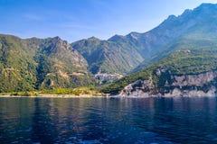 Mount Athos, Greece Agiou Pavlou or St. Paul`s Monastery. Royalty Free Stock Photography