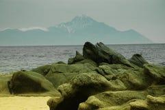 Mount Athos, Griechenland Lizenzfreie Stockfotos