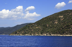 Mount Athos Royalty Free Stock Images