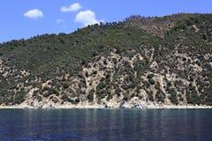 Mount Athos Stock Image