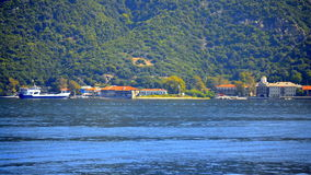 Mount Athos port Greece Royalty Free Stock Photography