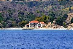 Mount Athos skit Chalkidiki Greece Stock Photos